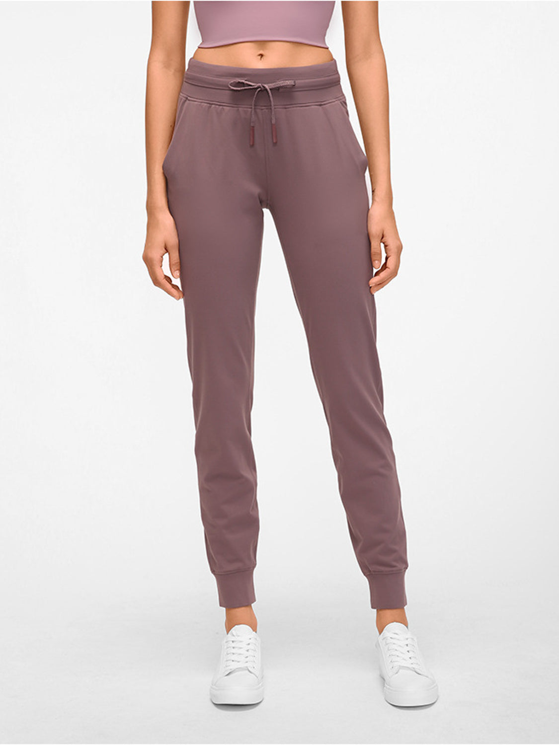 MOVI CLASSIC FITTED JOGGERS (PURPLE)