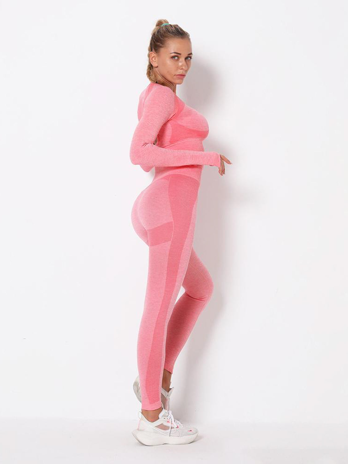 MOVI Energy Full Length Legging (Pink)