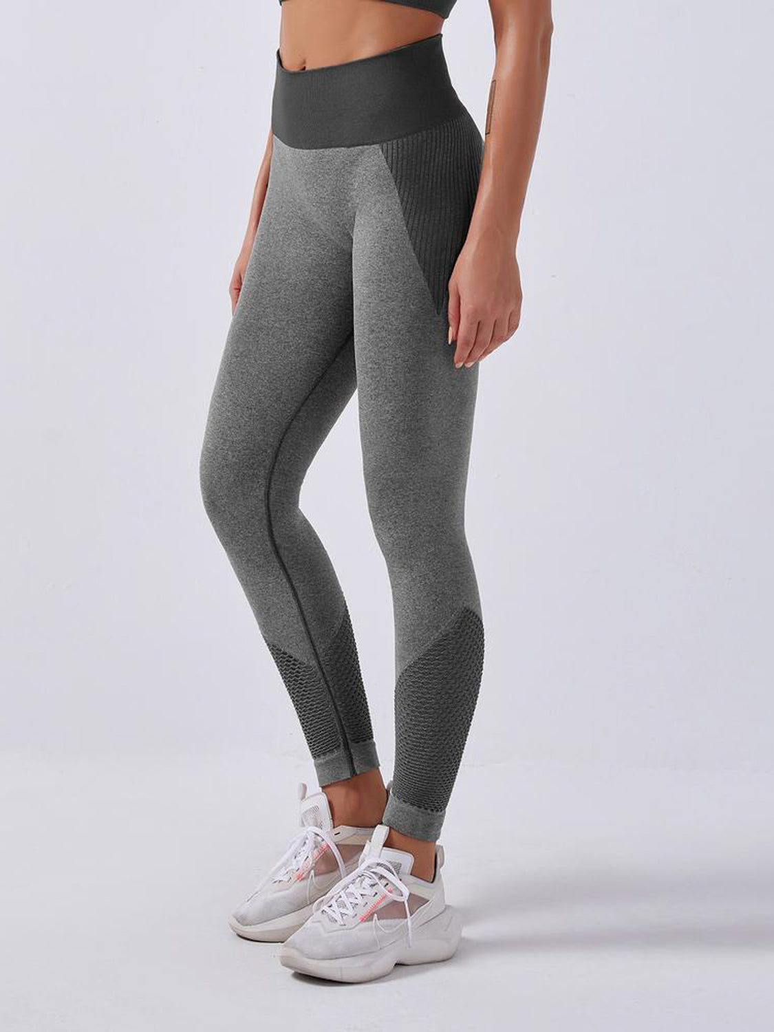 MOVI Engage Leggings - Grey/Black