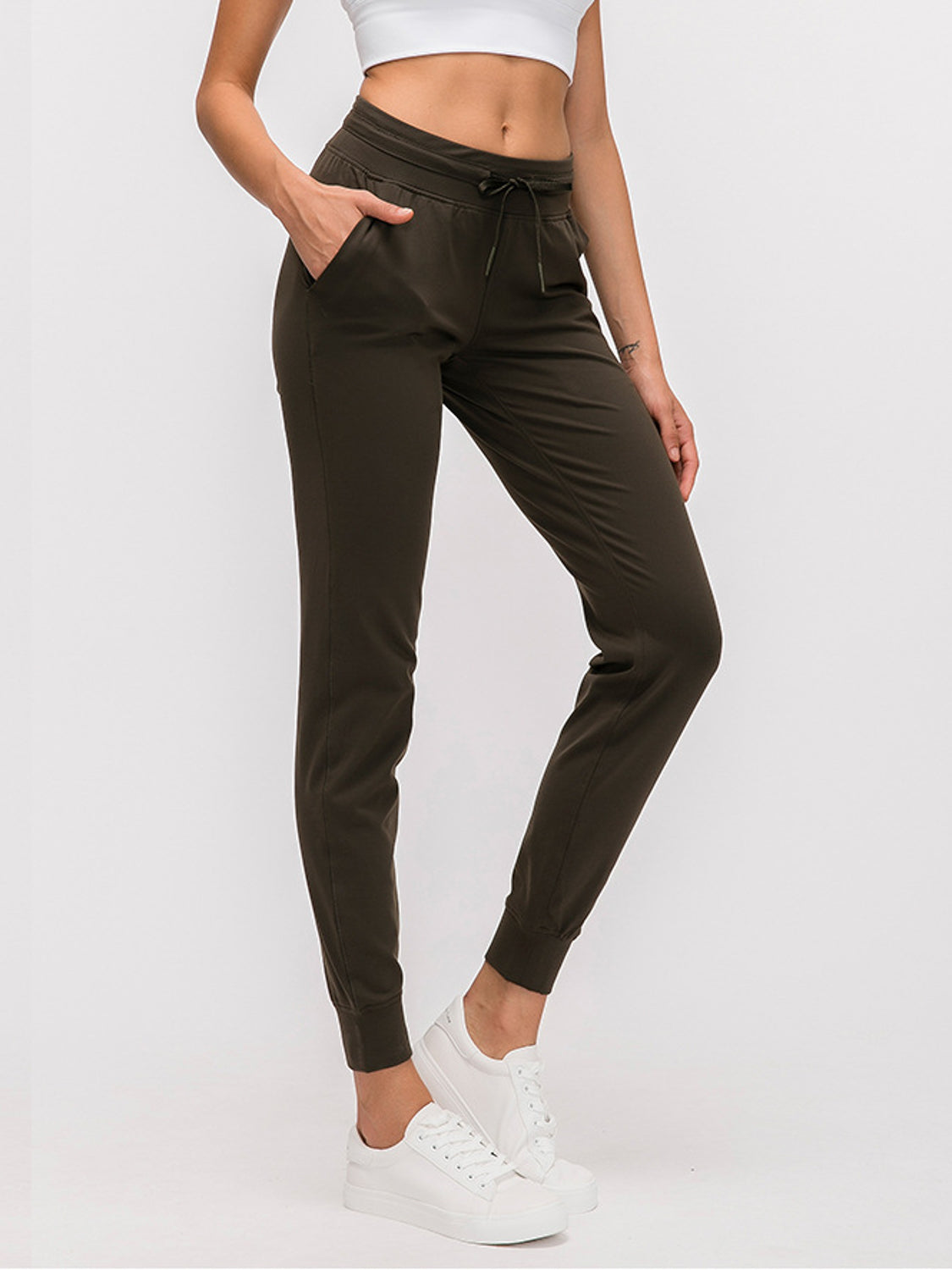 MOVI Classic Fitted Joggers (Cocoa)
