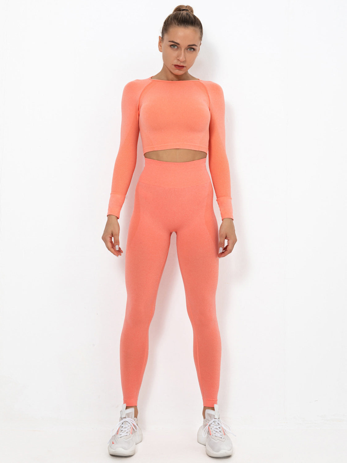 MOVI PULSE FULL LENGTH LEGGINGS - PEACH
