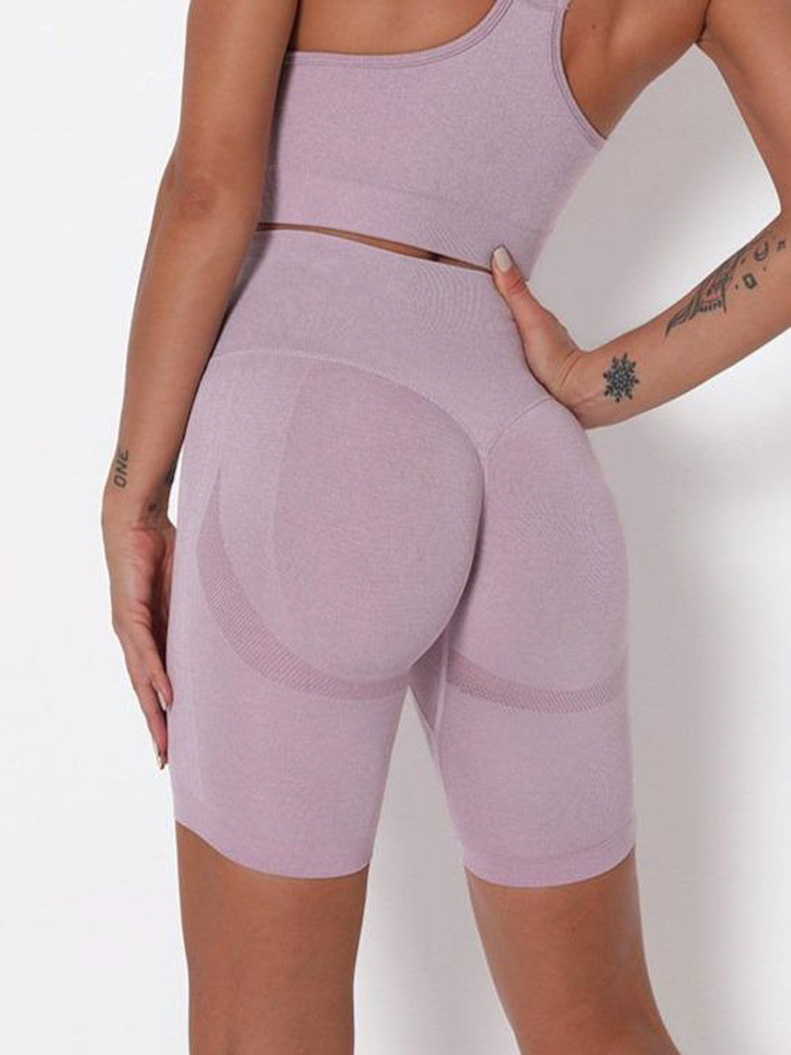 MOVI Pulse Contour Short - Lilac