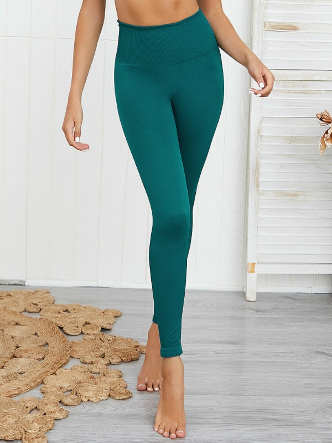 MOVI SPIRIT FULL LENGTH LEGGINGS (IVY GREEN)