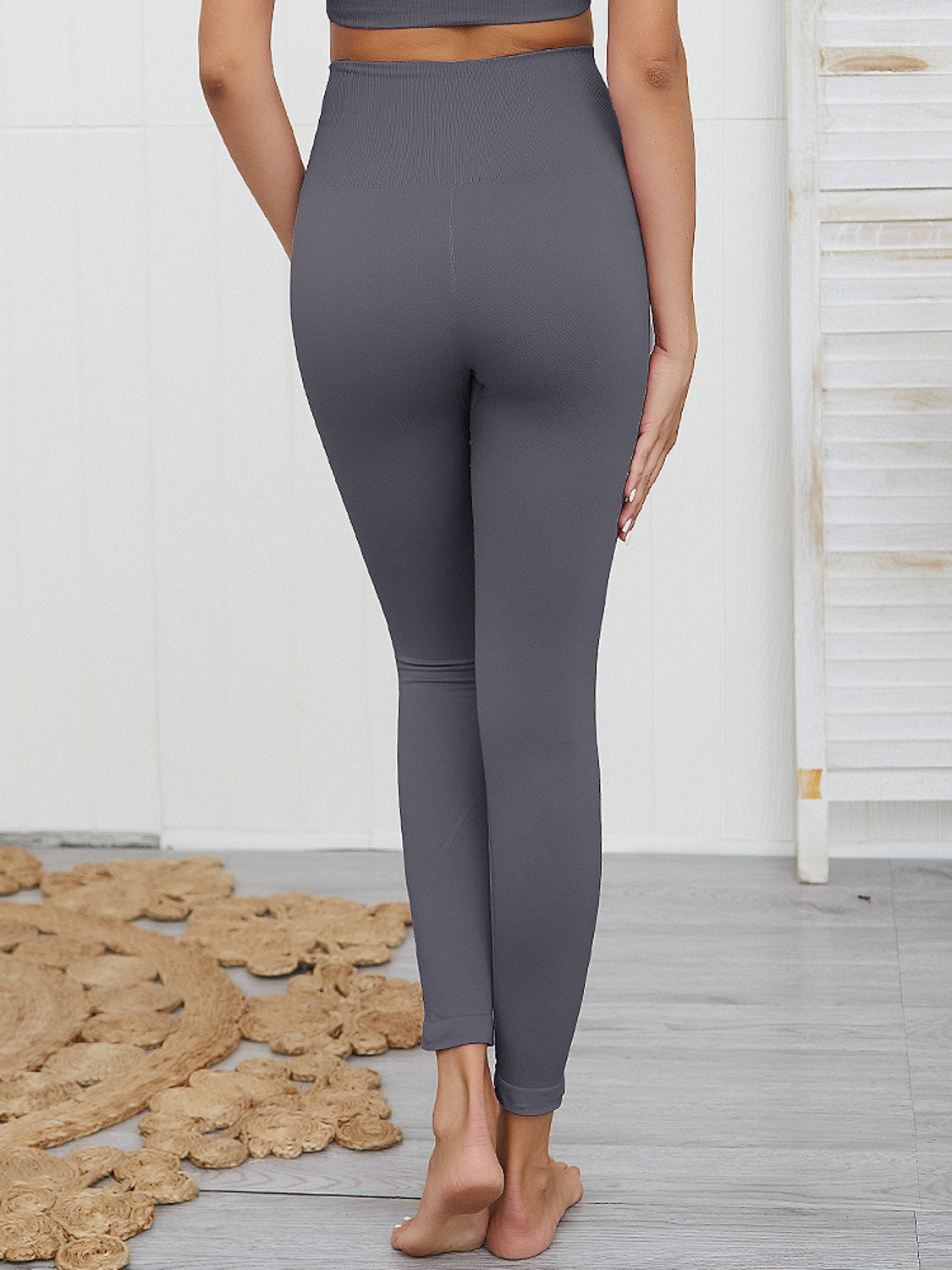 MOVI SPIRIT Full Length Leggings (Dark Grey)