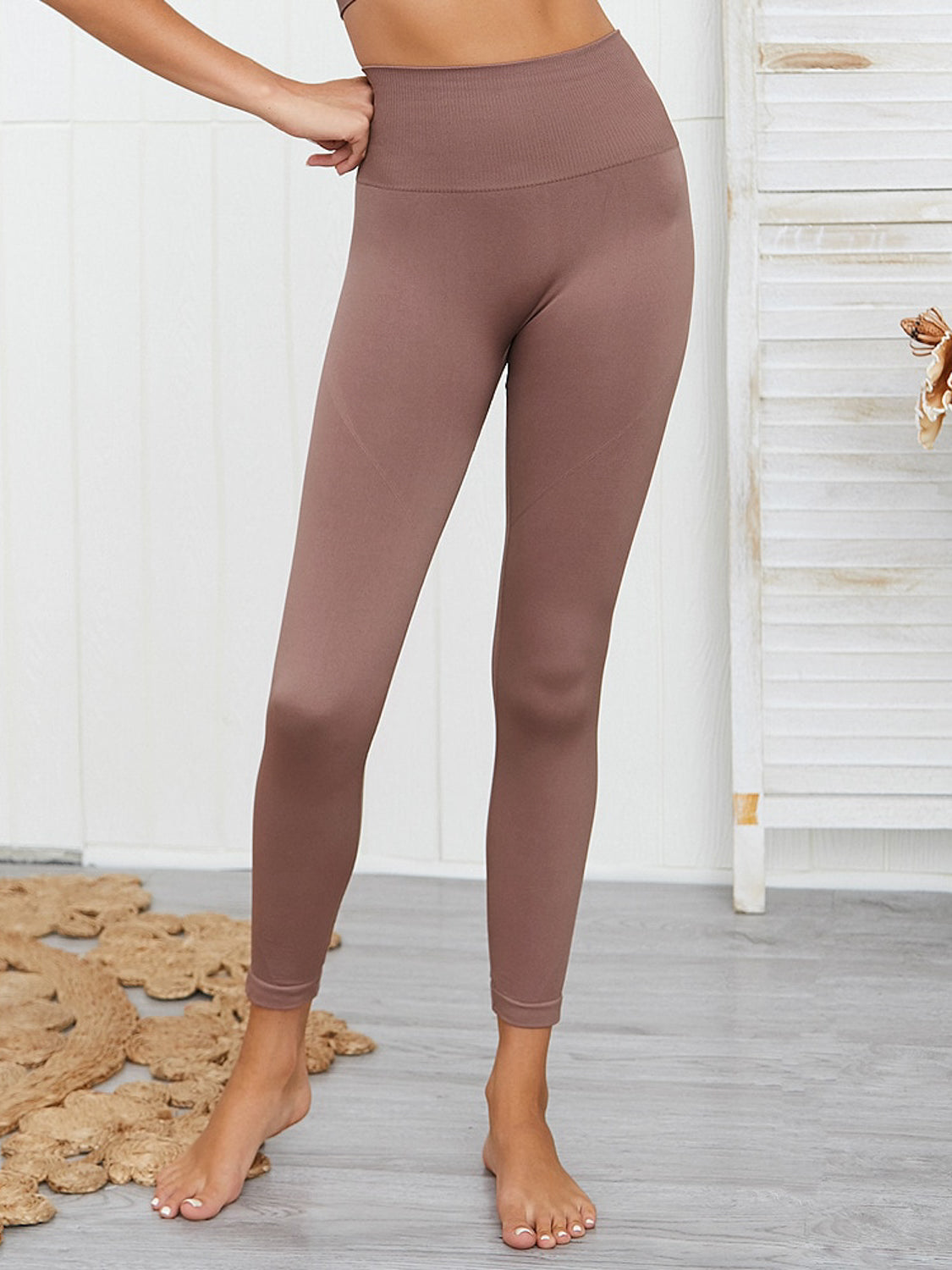 MOVI SPIRIT Full Length Leggings (MOCHA)