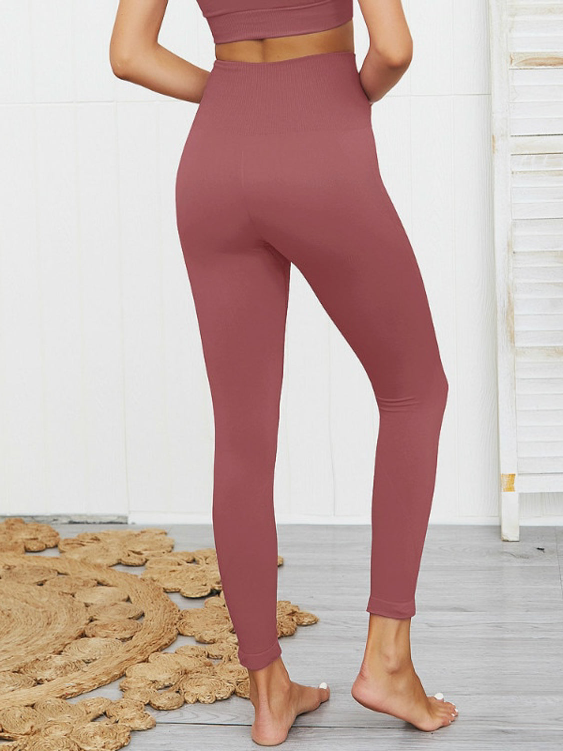 MOVI SPIRIT Full Length Leggings (ROSE)