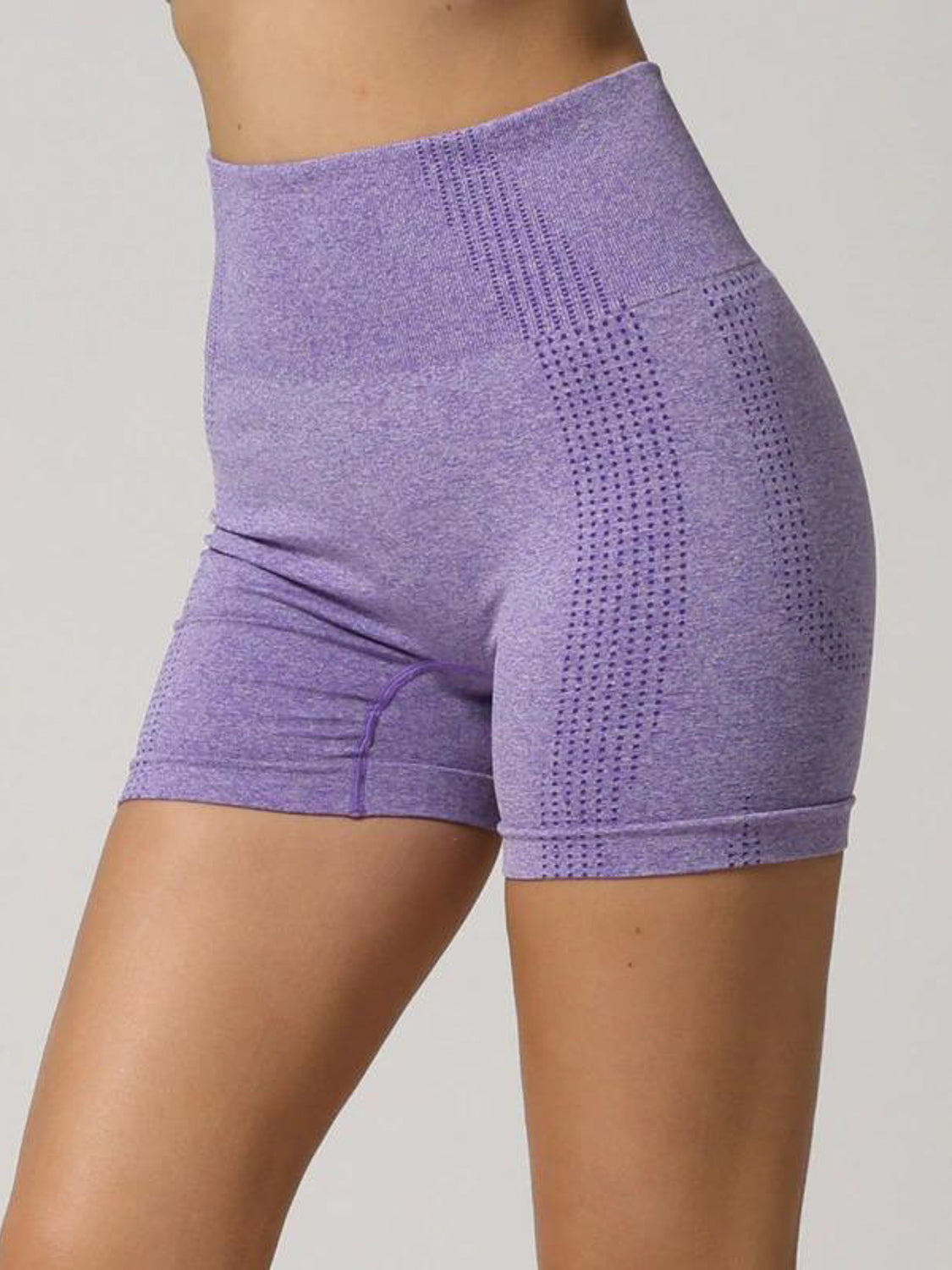 MOVI Sculpt+ Flex Cycling Shorts in Purple