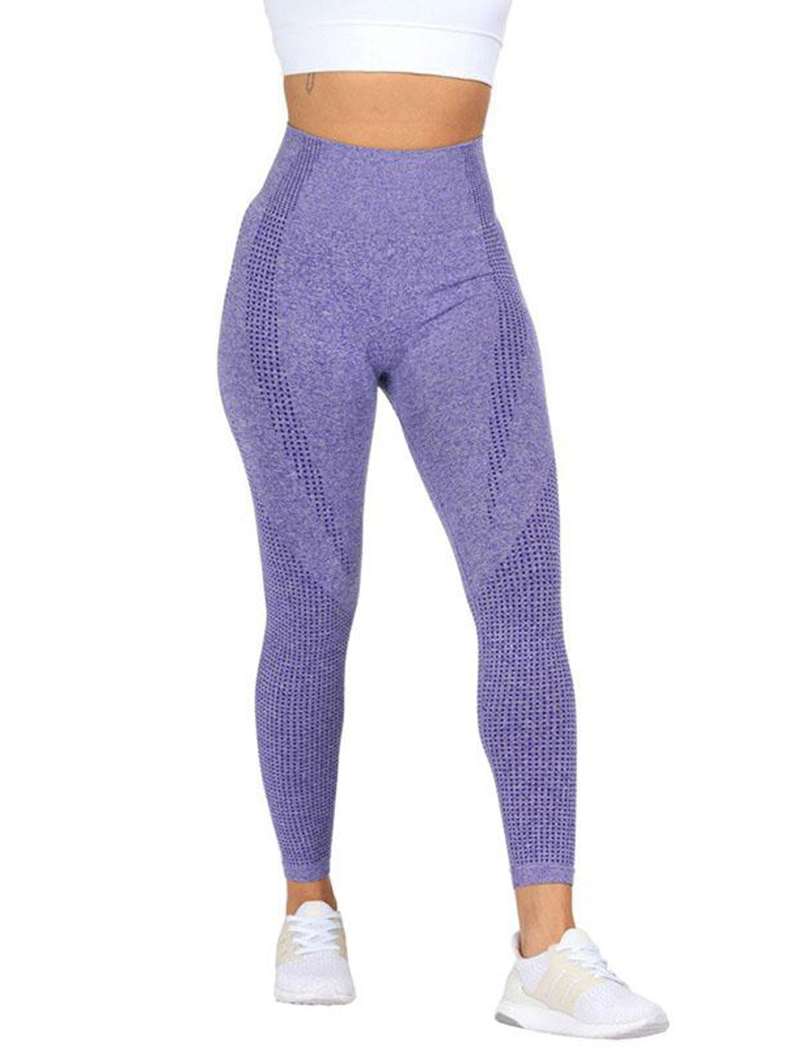 MOVI Sculpt+ Flex Full Length Leggings - Indigo