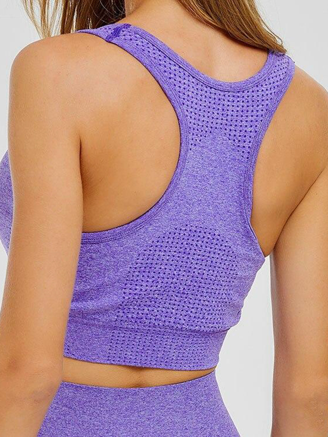 MOVI Sculpt+ Flex Sports Bra in Purple