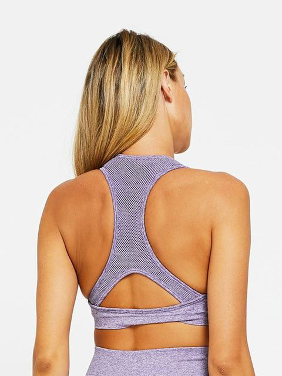 MOVI Sculpt+ Flex Sports Crop (Lilac)