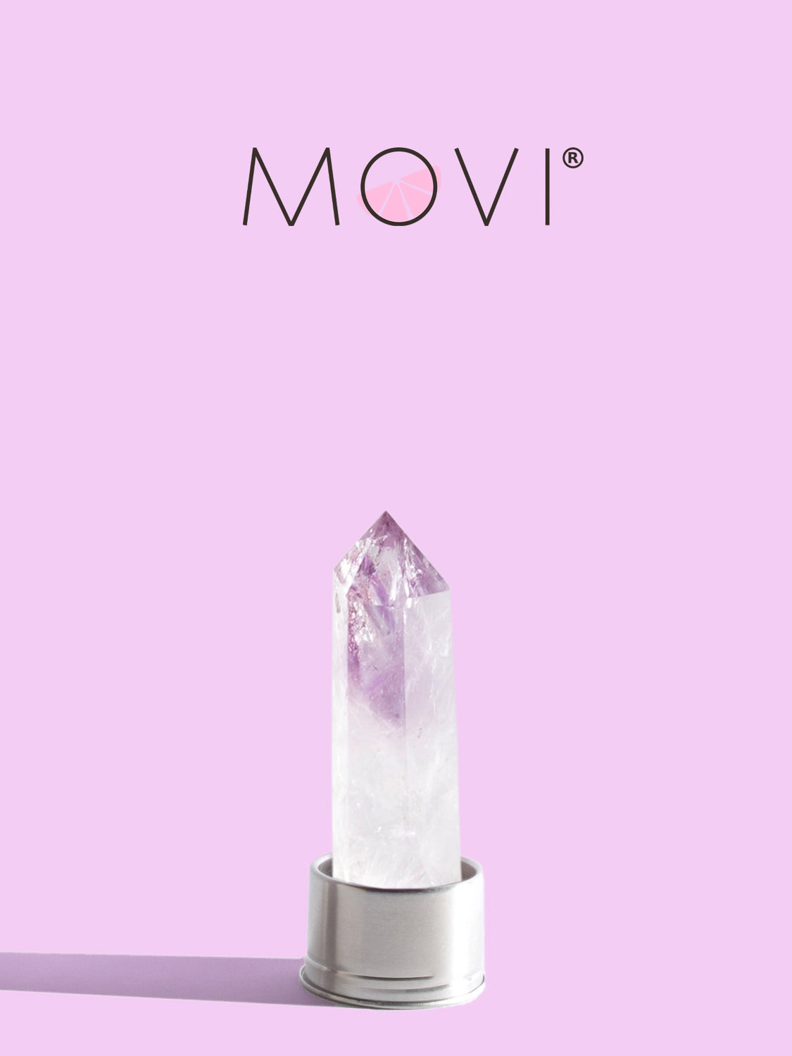 MOVI Clear Quartz Bottle