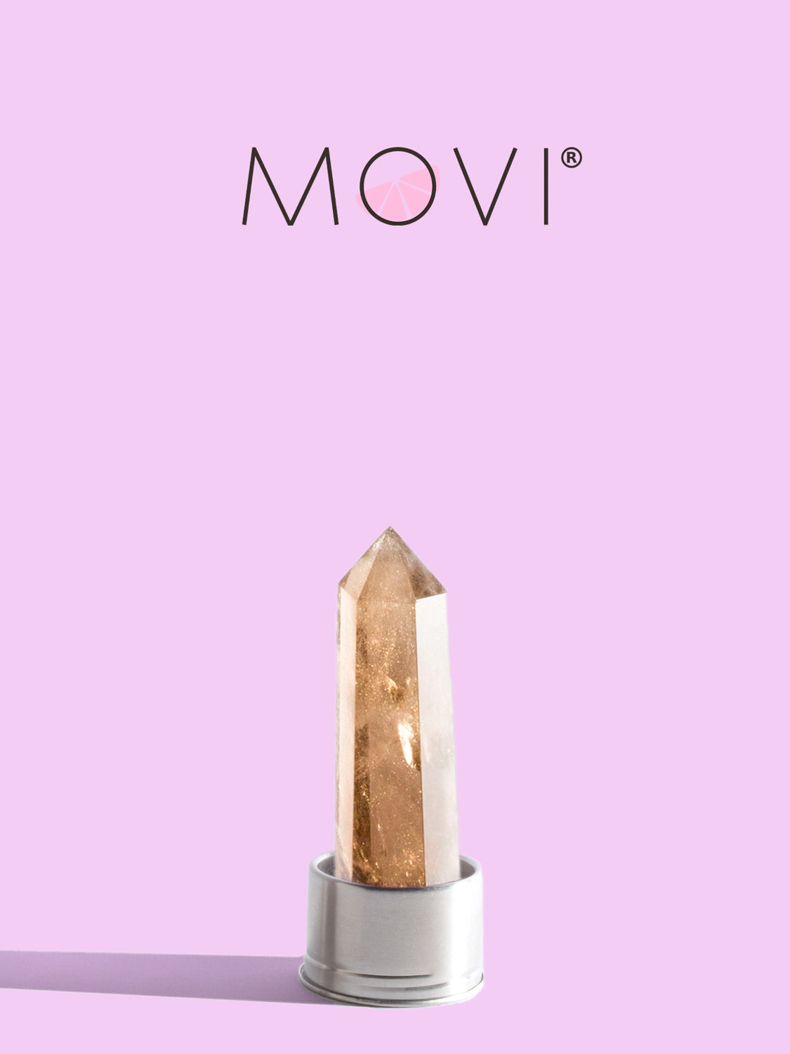 MOVI Smoky Quartz Bottle