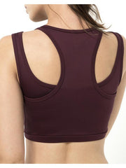 Lola Sports Bra - Mulberry
