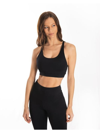 Black Ultra+ Sports Bra