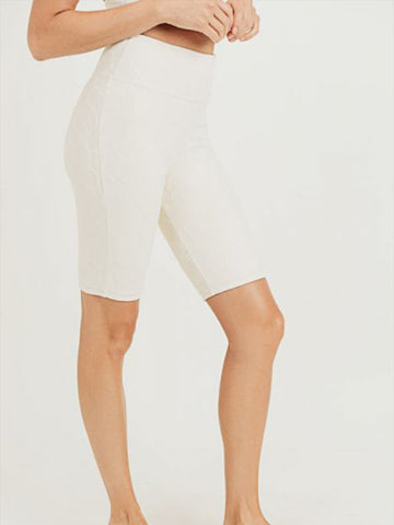 Lily Short Leggings - NATURAL
