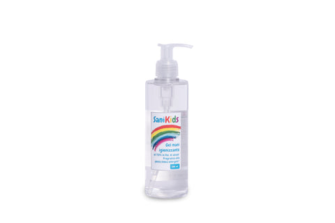 Sanikids Gel - Dispenser da 250 ml Box 20 Confezioni
