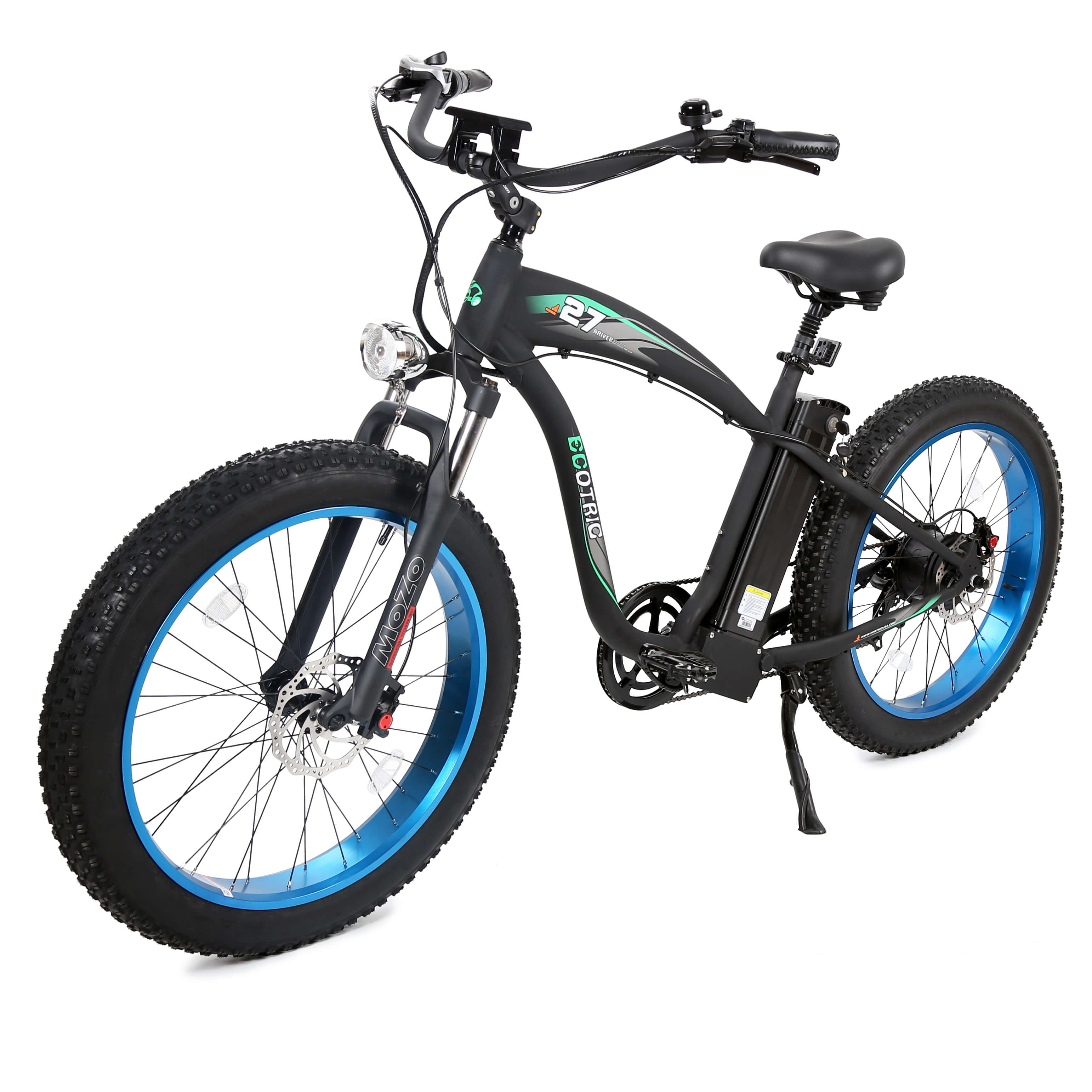 Crankworks Ecotric-Hammer 48V 1000W Fat Tire All Terrain Electric Bicycle