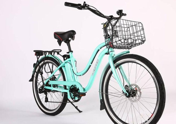 X-Treme Malibu Elite Max 36 Volt Beach Cruiser Electric Bicycle