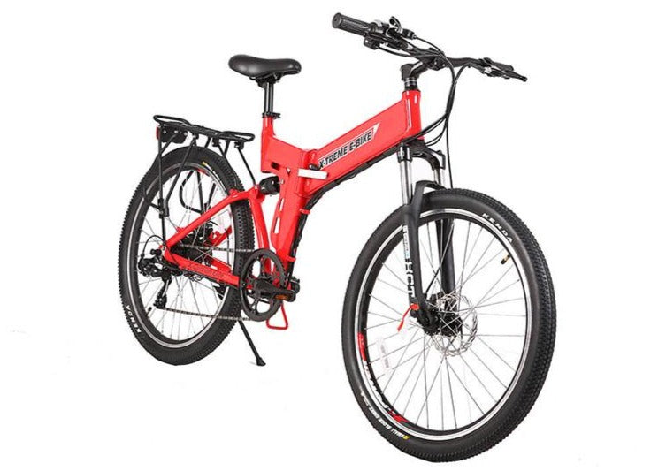 X-Treme X-Cursion Elite 24 Volt Folding Electric Mountain Bicycle