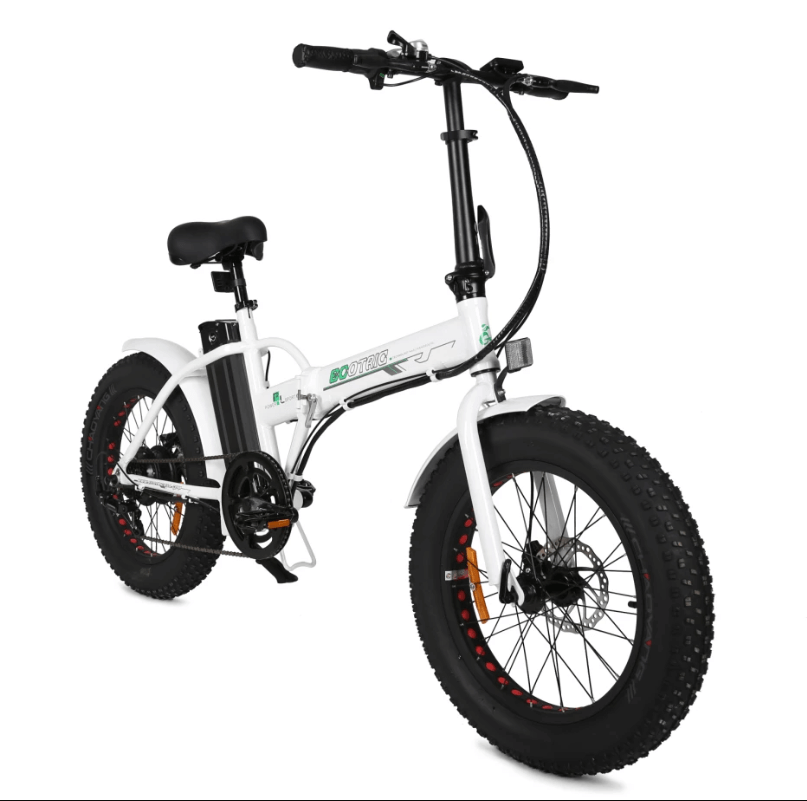 "Crankworks Ecotric-20"" Fat Tire 36V 500W Folding Electric Bicycle"