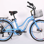 X-Treme Malibu Elite 24 Volt Beach Cruiser Electric Bicycle