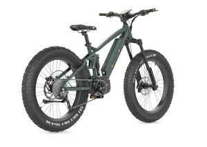 QuietKat Ridgerunner 48V 1000W Fat Tire Electric Mountain Bike