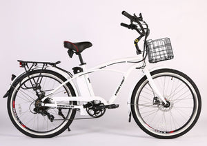 X-Treme Newport Elite Max 36 Volt Beach Cruiser Electric Bicycle
