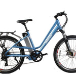 X-Treme Trail Climber Elite Max 36 Volt Step-Through Electric Mountain Bicycle