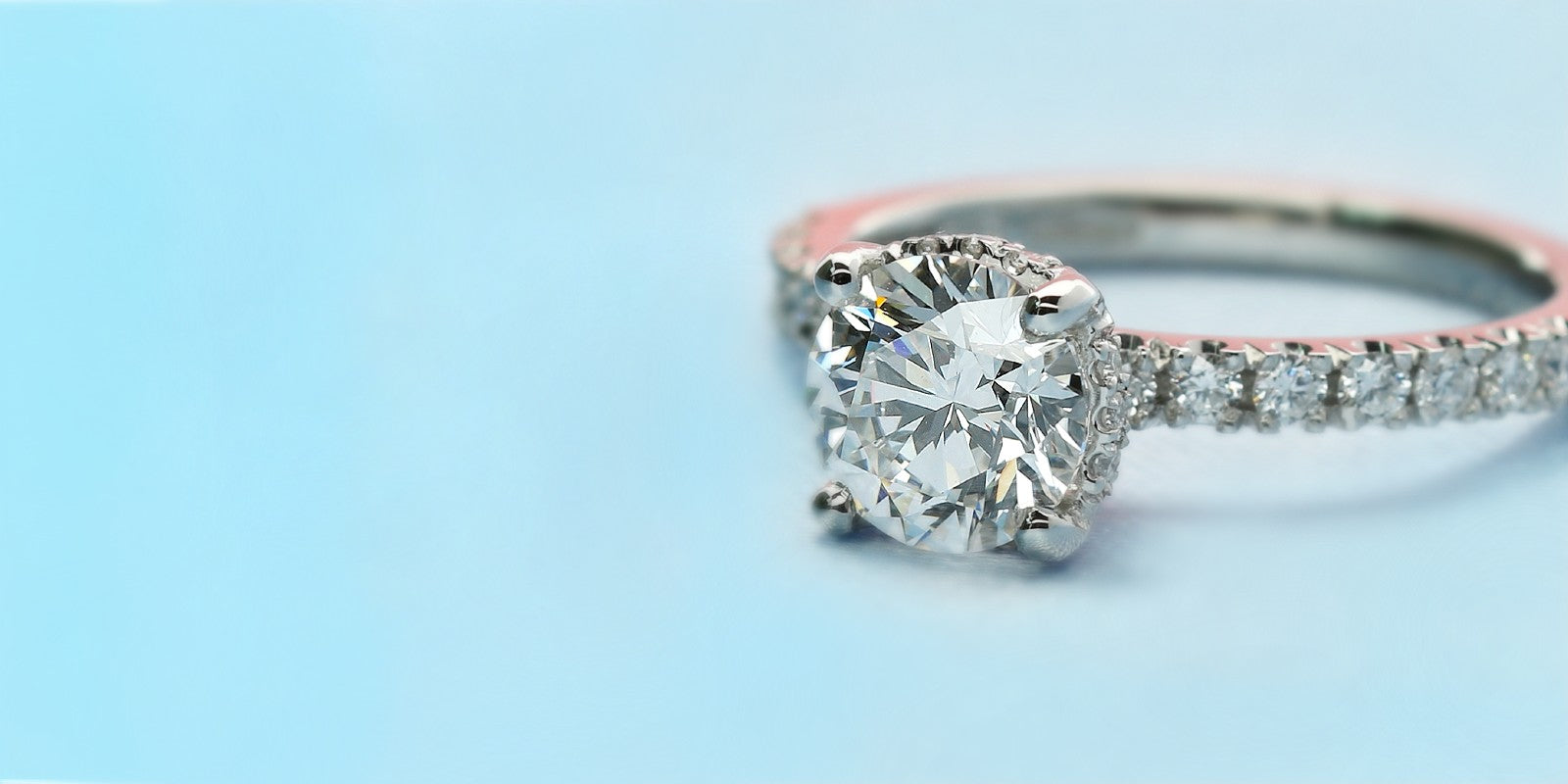 Lab grown diamond engagement rings - Pure Carats UK