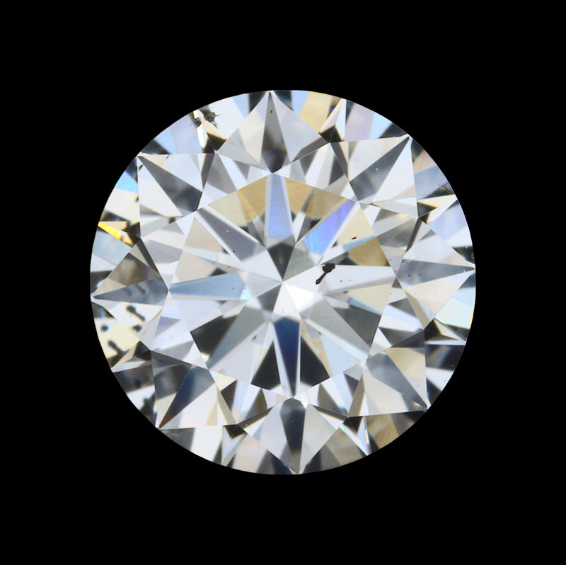 0.72 Carat H-Color SI1-Clarity Round Diamond