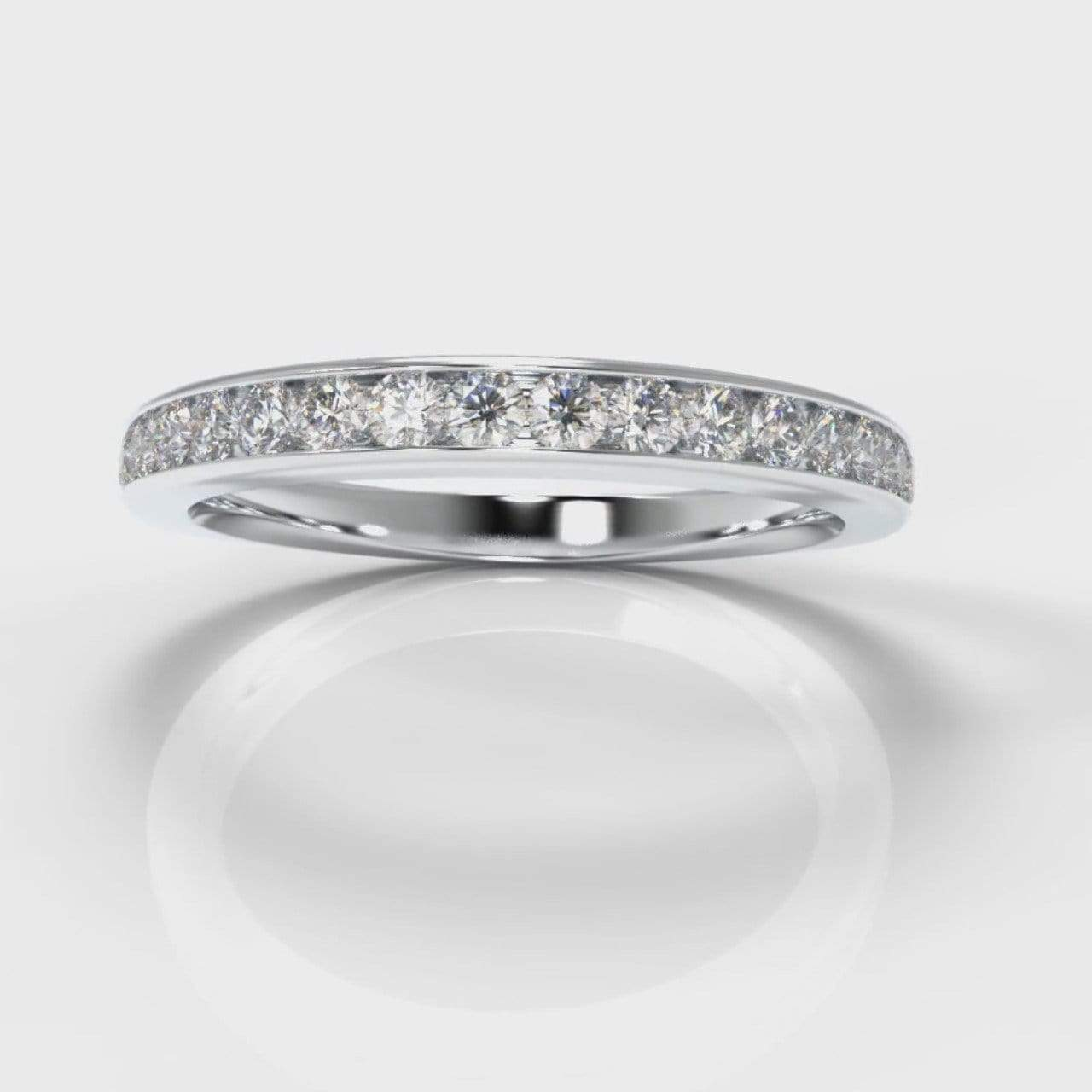 Channel Set Lab Diamond Wedding Band-Wedding Ring-Pure Carats-Pure Carats