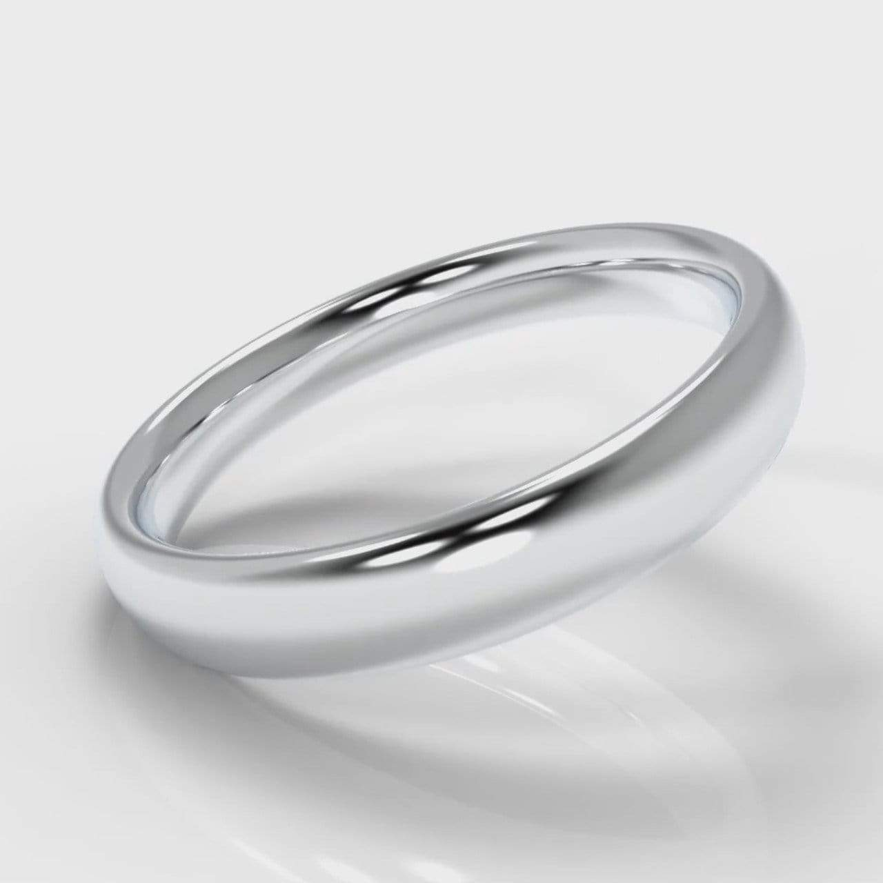 Classic Court Comfort Fit Wedding band - 4mm wide-Wedding Ring-Pure Carats-Pure Carats
