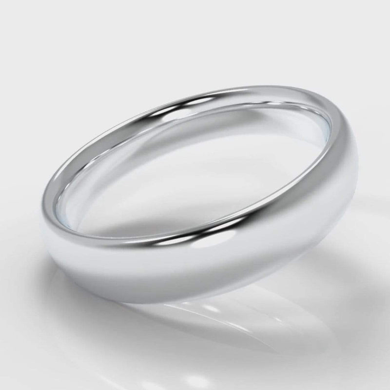 Classic Court Comfort Fit Wedding band - 5mm wide-Wedding Ring-Pure Carats-Pure Carats