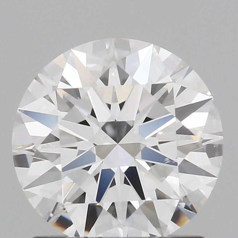 1.03 Carat E-Color VVS2-Clarity Round Diamond