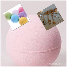 Load image into Gallery viewer, 10 oz  xl Divination Bombs, Bath Bombs with Pendulum