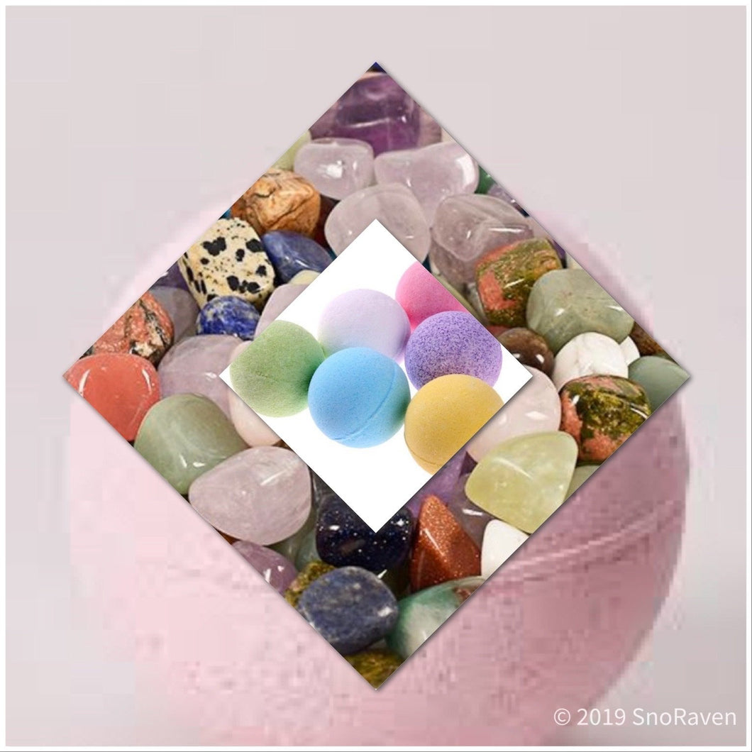 10 oz Mystery Gemstone Bombs