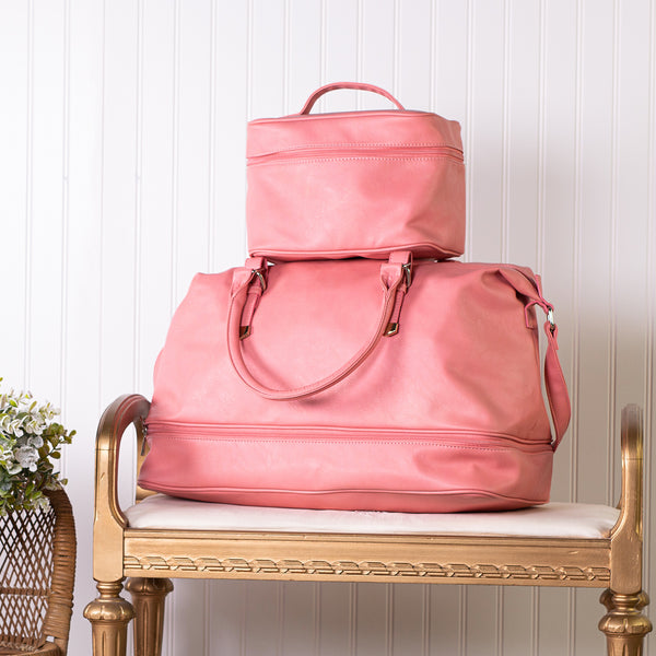 Let's Go Women's Duffle Bag - Coral