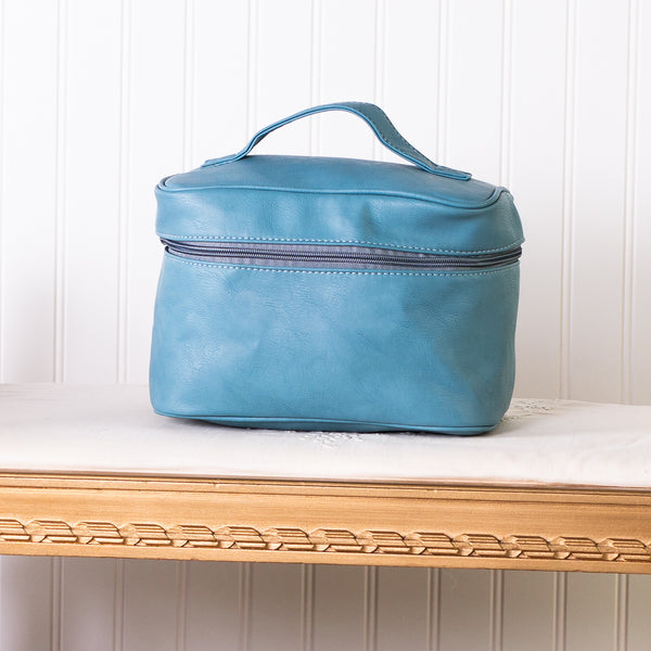 Let's Go Travel Cosmetic Bag - Aqua