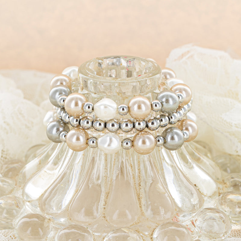 As Lovely As You Pearl Bracelet Set