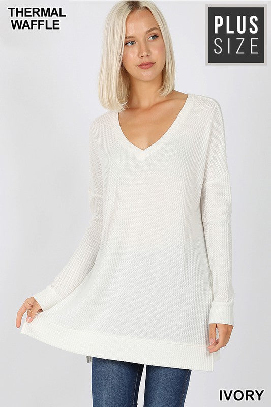 Now and Then Long Sleeve Top - Ivory