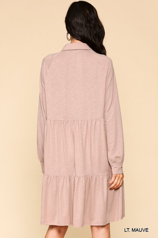 Sweet Magnolia Dress - Dusty Pink