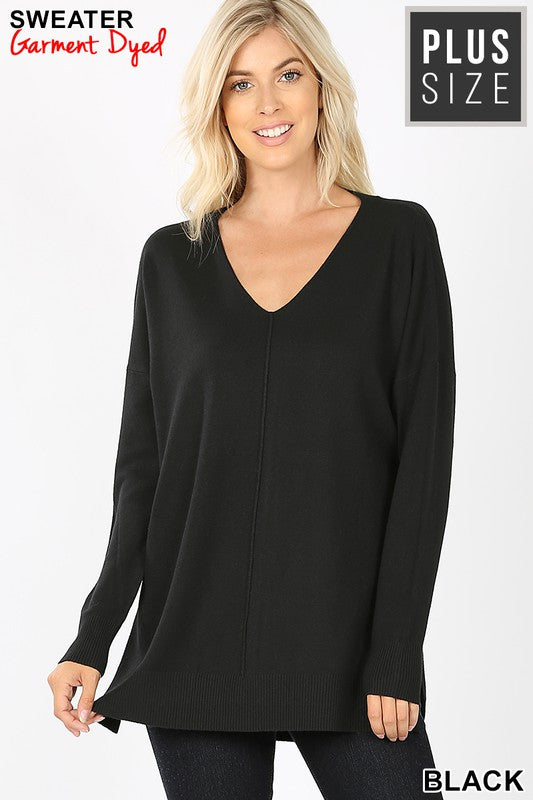 Down The Line Sweater - Black
