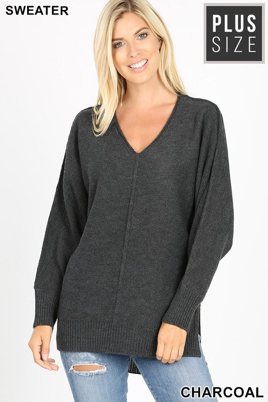 Perfect Connection Sweater - Charcoal