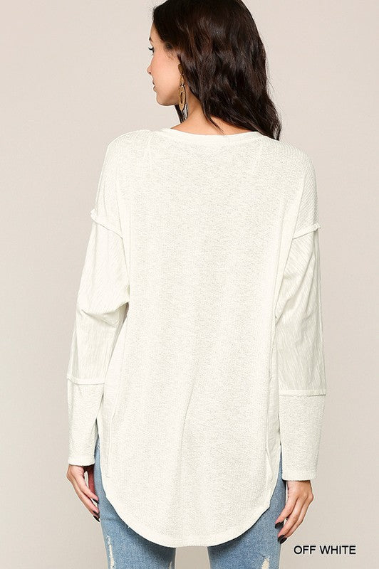 Have It Your Way Casual Top - Off White
