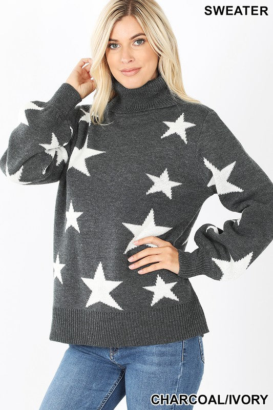 Late Nights Star Sweater