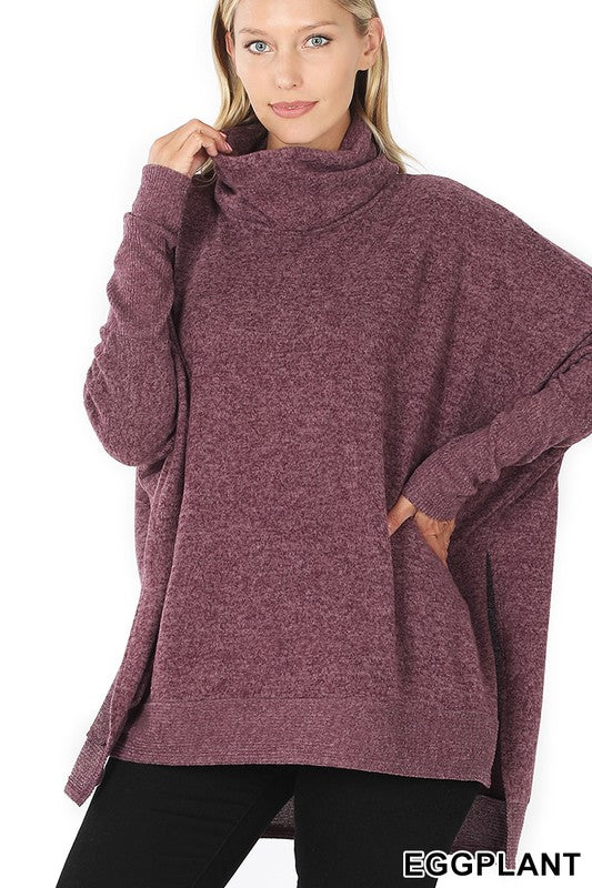 That Loving Feeling Sweater - Eggplant
