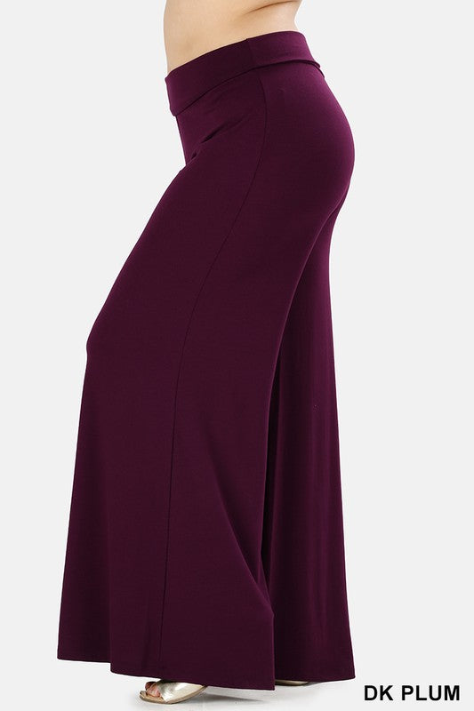 Cater to You Palazzo Pants - Dark Plum