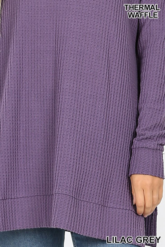 It's Just Simple Sweater - Lilac Grey