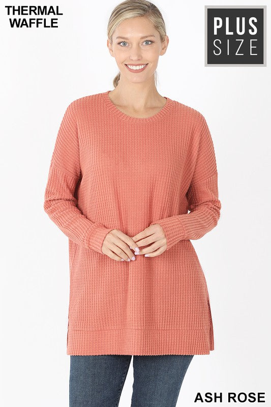 It's Just Simple Sweater - Ash Rose
