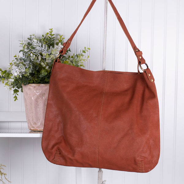 Keep It Chic Genuine Leather Handbag